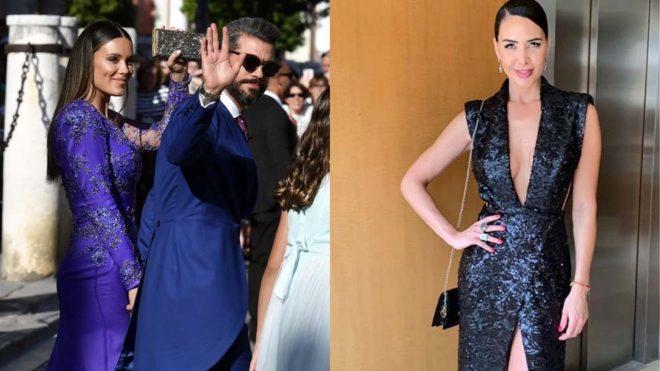 René Ramos acudió junto a su novia Lorena Gómez, pero no coincidió...