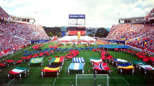 Ceremonia del Mundial de USA 1994