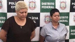 La pareja que presuntamente mató a su hijo en Brasil