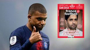 Al-Khelaifi habla en France Football sobre Neymar y Mbappé