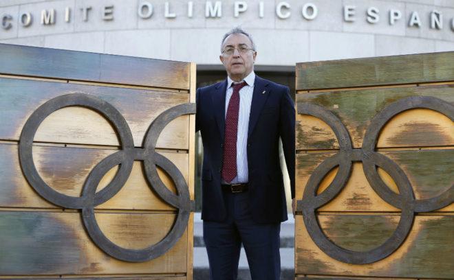 Alejandro Blanco, en el COE