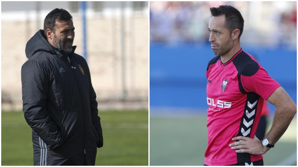 Raúl Agné y José Manuel Aira.
