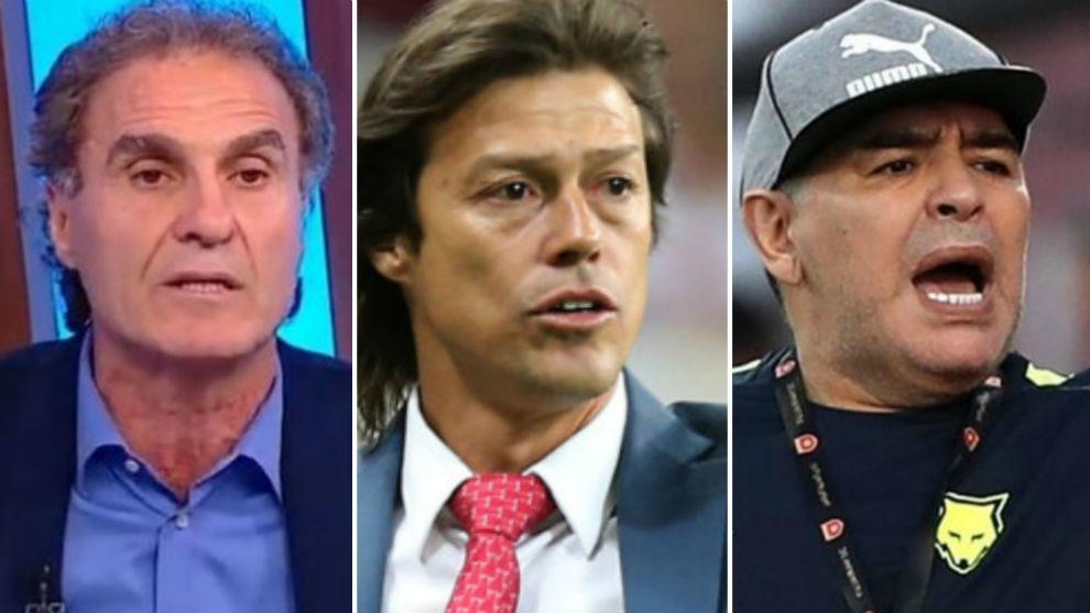 Los tres ex jugadores analizaron en forma dura a la selección.