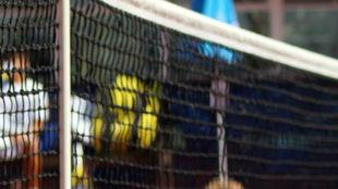 Una red de tenis