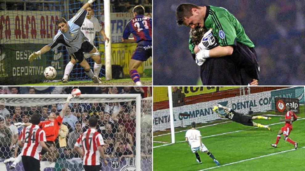 Diez paradas que convirtieron a Iker Casillas en 'el Santo'