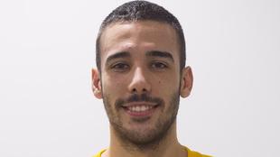 Gerard Forns, guardameta catalán de 24 años /