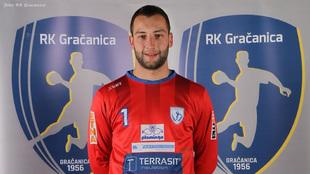 Ahmetasevic, con la camiseta del Gracanica /