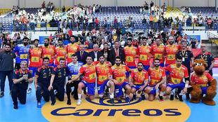 España, este año en un encuentro contra Austria en Melilla /