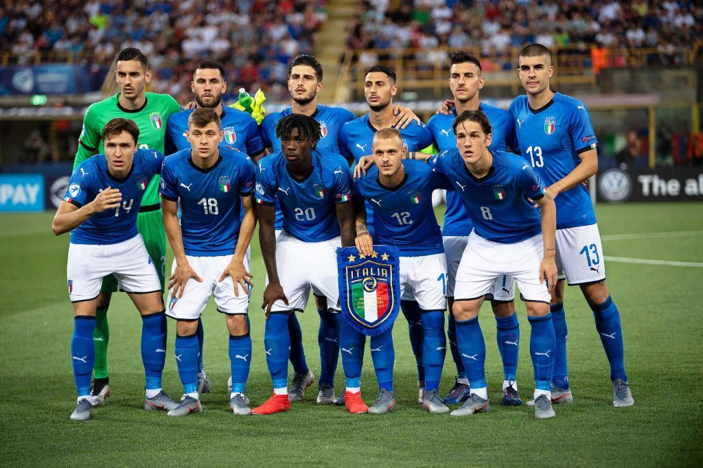 Bologna (<HIT>Italy</HIT>), 16/06/2019.- Players of <HIT>Italy</HIT> line up for the UEFA European Under-21 Championship 2019 group A soccer match between <HIT>Italy</HIT> and <HIT>Spain</HIT> in Bologna, <HIT>Italy</HIT>, 16 June 2019. (Italia, España) EFE/EPA/ALESSIO MARINI