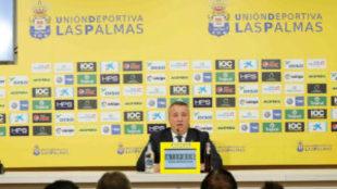 Miguel Ángel Ramírez, presidente de Las Palmas.