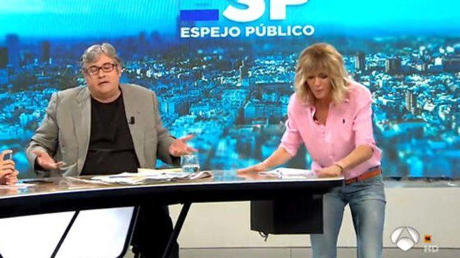 El golpe en la mesa de Susanna Griso en 'Espejo Público'