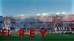 El Villamarín, en la final de Copa.