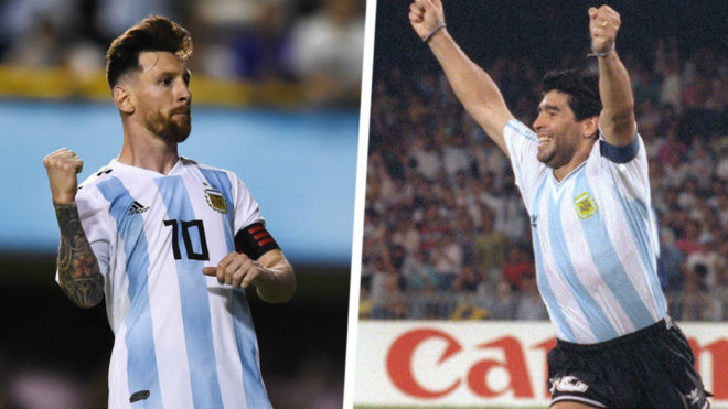 1ec7c82bae9 Capello: Maradona's Argentina Were Stronger and Better Than Messi's.  Argentina (National Football) logo