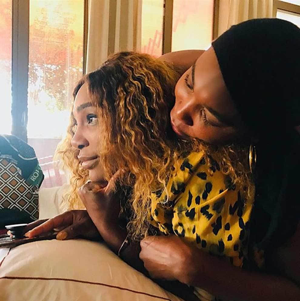 La foto de amor fraternal de Serena Williams y Venus Williams