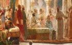 Recreación de la Corte de Abderramán III, en Córdoba