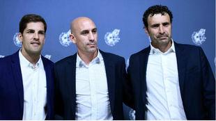 Robert Moreno, Rubiales and Molina.