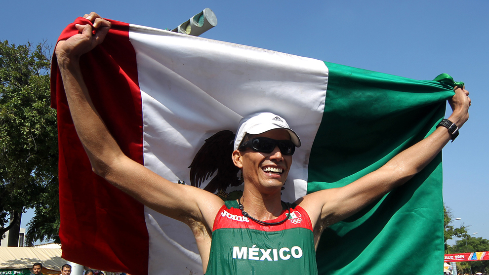 Horacio Nava en los JCC de Veracruz 2014