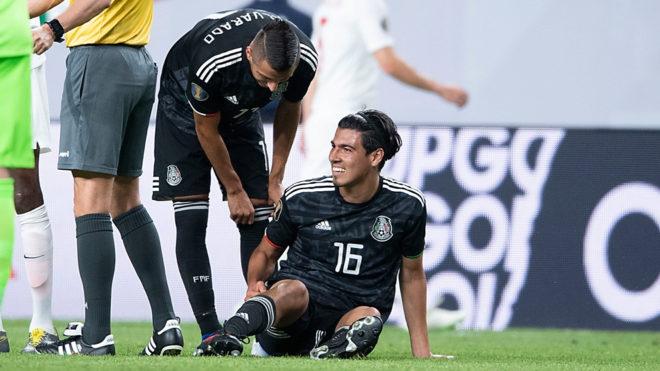 El 'Guti' podría ser baja de la Copa Oro