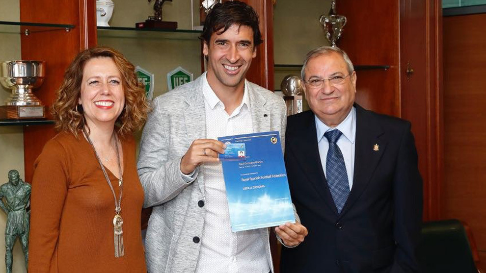 Raúl González, nuevo director técnico del Real Madrid Castilla