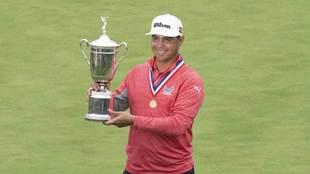 Woodland ganó el US Open