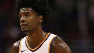 Josh Jackson en una foto de su primera temporada en la NBA.