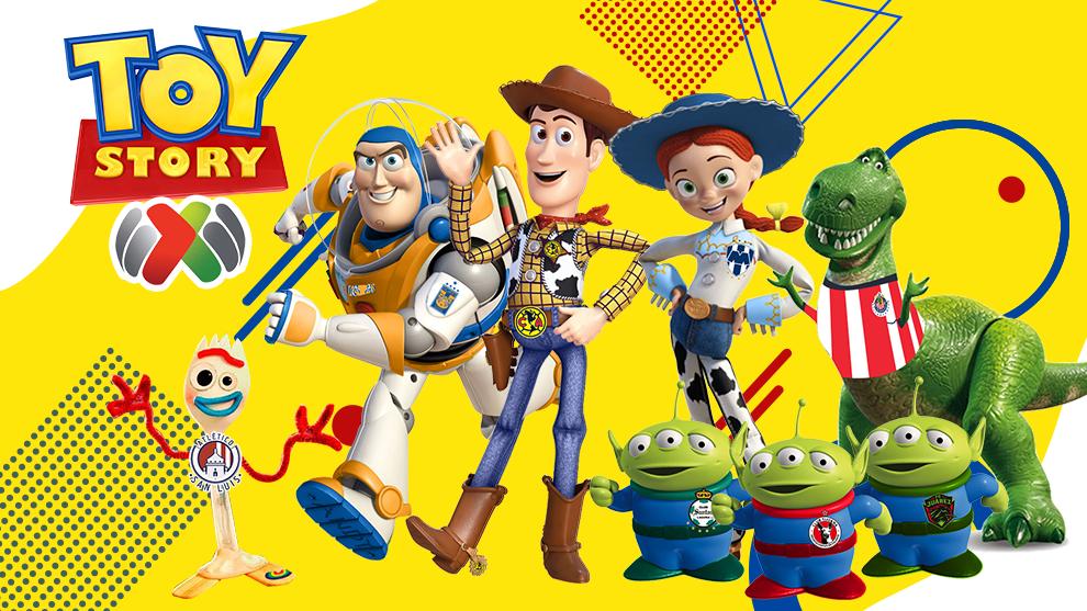 La Liga MX y Toy Story, sin duda está en la mente de chicos y...