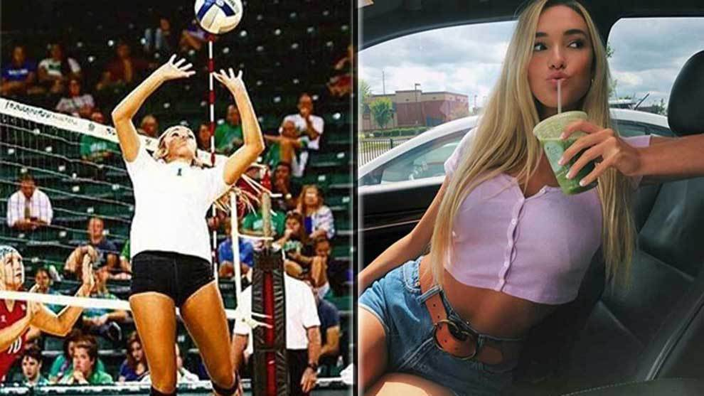Kayla Simmons, jugadora de baloncesto de la Universidad de Marshall en...