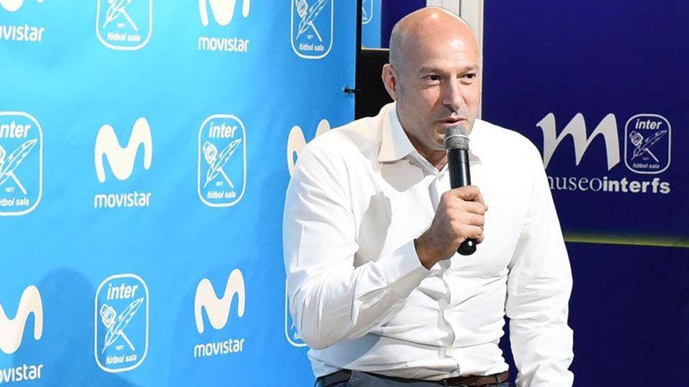 Tino Pérez es el nuevo entrenador del Inter Movistar.