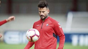 Rubén García es ya de pleno derecho jugador de Osasuna.