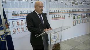 Miguel Concepción, presidente del Tenerife