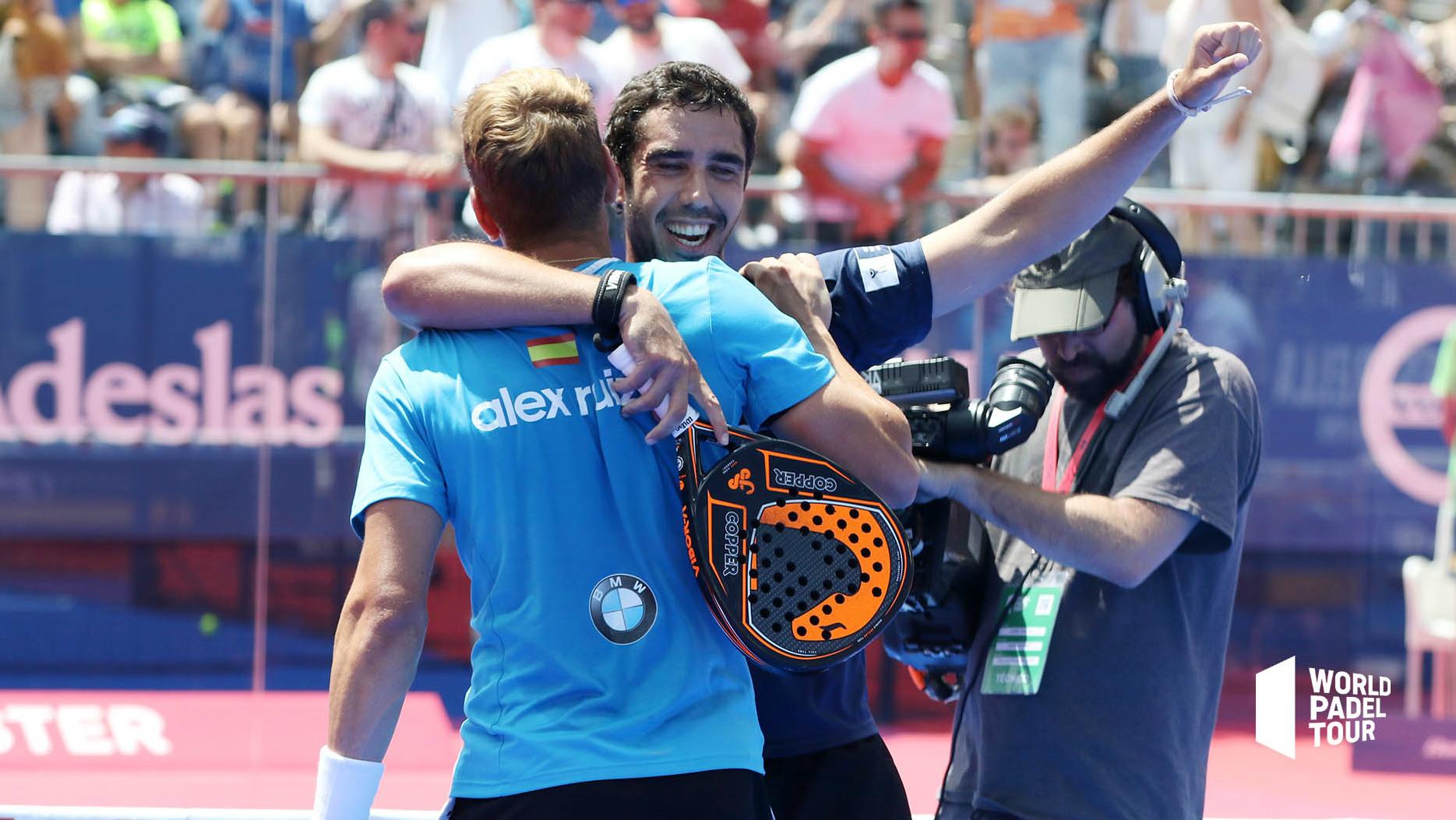 Ruiz y Sánchez Piñeiro celebran su triunfo