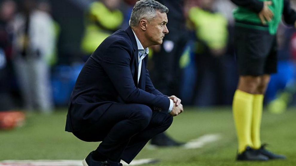 Fran Escribá, entrenador del Celta.