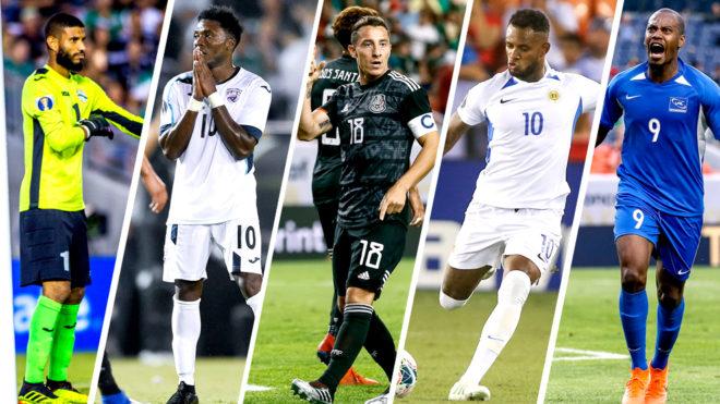 Cuba, México, Curazao y Martinica han protagonizado esta Copa Oro.