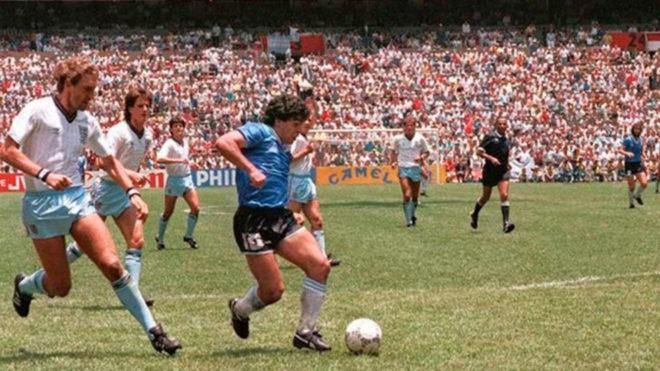 Se Cumplen 33 Anos Del Gol Del Siglo De Diego Maradona Contra Inglaterra Marca Claro Mexico