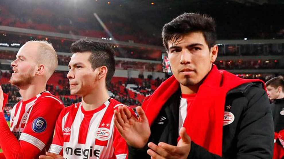 Érick Gutiérrez ha tenido un paso complicado por el PSV