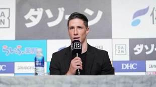 El 'Niño' Torres, en conferencia de prensa.