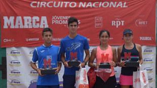 Campeones y finalistas del MARCA Promesas de Alicante