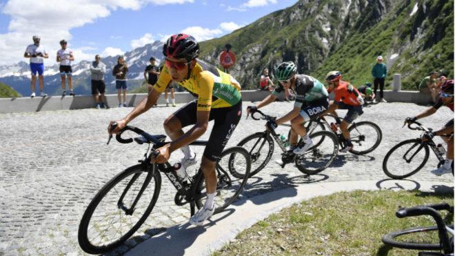 Bernal, en la Vuelta a Suiza