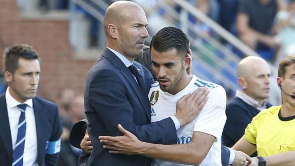 Zidane and Ceballos