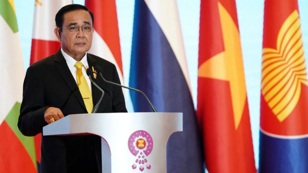 Prayuth Chan-ocha (65), primer ministro de Tailandia.