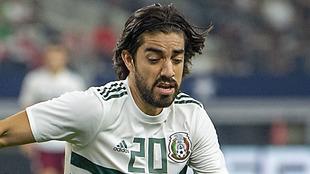 Rodolfo Pizarro en acción