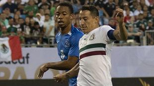 El capitán mexicano en acción