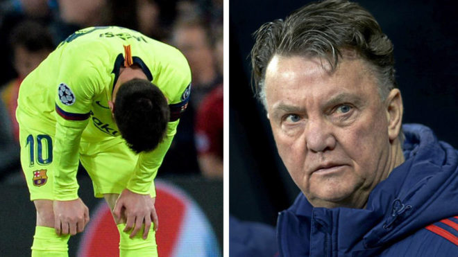 Van Gaal launches a scathing attack on Lionel Messi and Barça