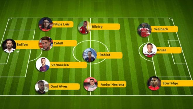 Héctor Herrera y otros diez futbolistas que acaban contrato este...