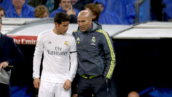 James Rodriguez trying to remain calm despite Real Madrid uncertainty