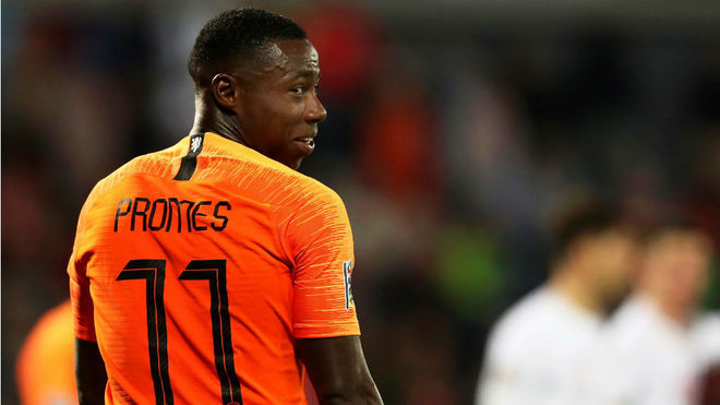 Quincy Promes is a full Netherlands international.