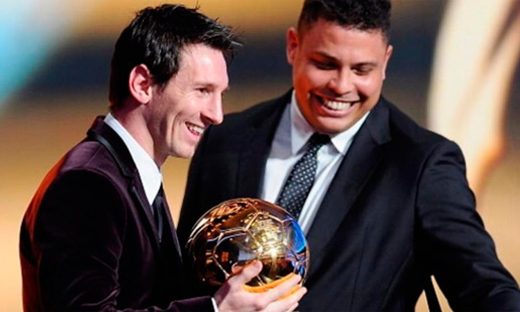Ronaldo: What do you say about Messi? That he'll play for the rest ...