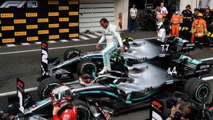 Lewis Hamilton, en Paul Ricard.