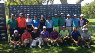 19 de los 22 golfistas españoles que juegan esta semana en...