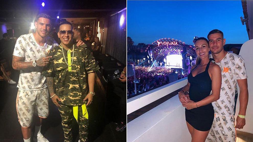 Theo disfruta de sus vacaciones en Ibiza muy bien acompañado: por su...